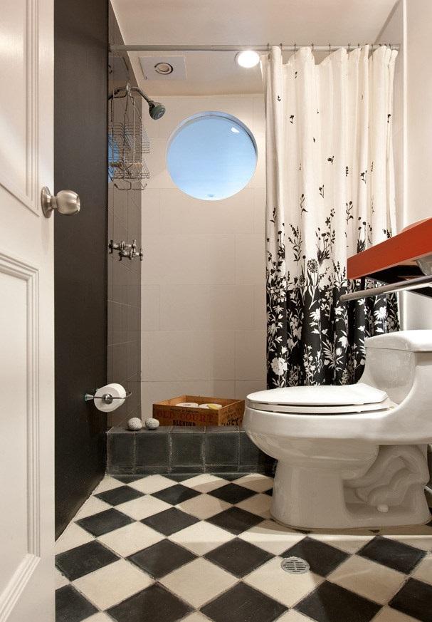 Porcelanato Negro Y blanco, Piso Porcelanato Negro Y blanco, Porcelanato baño
