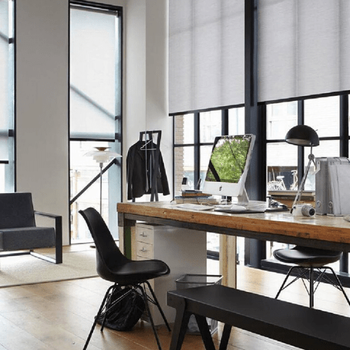 Cortinas Enrollables motorizadas cortinas automaticas cortinas para oficina